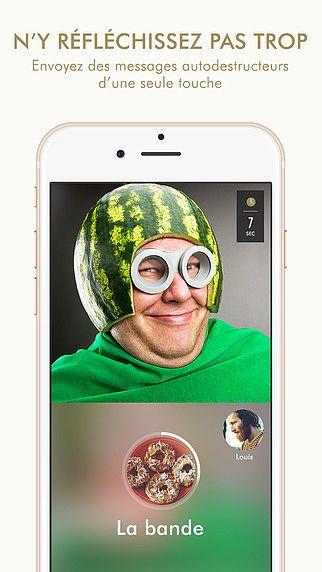 MIRAGE - messagerie caméra pour mac