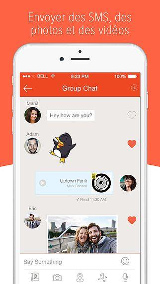 Tango: Appel vidéo et messages gratuits pour mac