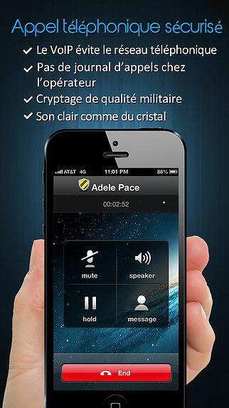 CoverMe Appels et SMS Sécurisés pour mac