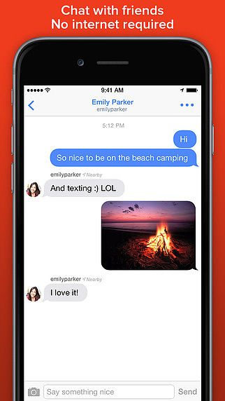 FireChat pour mac