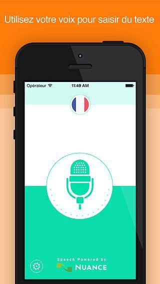 Voix Active : Convertissez instantanément vos paroles en texte ( pour mac