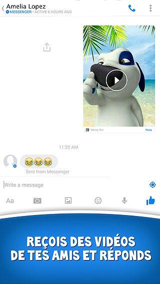Talking Tom pour Messenger pour mac