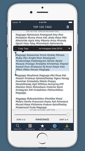 Tags App - Tags pour Instagram pour mac