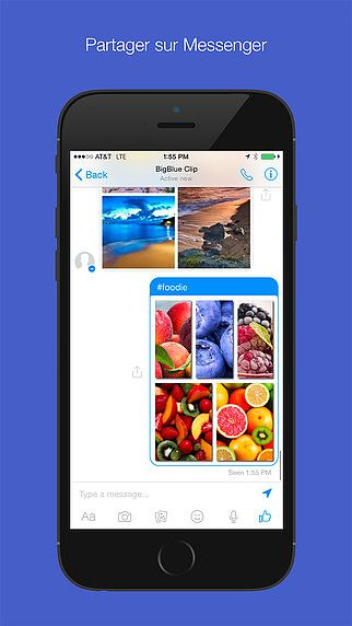 Pic Stitch for Messenger pour mac