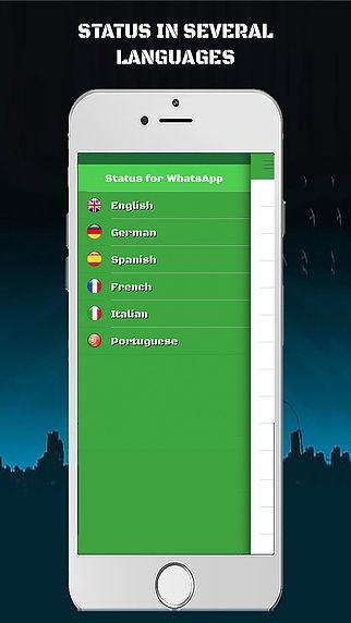Statut pour WhatsApp pour mac