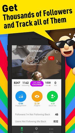 Abonnés pour Instagram - outil de surveillance gratuit des abonn pour mac