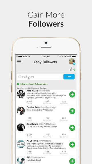 Crowdfire - for Twitter  pour mac