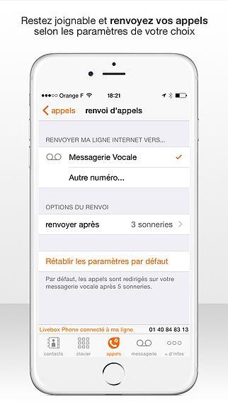 Livebox Phone, votre téléphone de la maison toujours à portée de pour mac