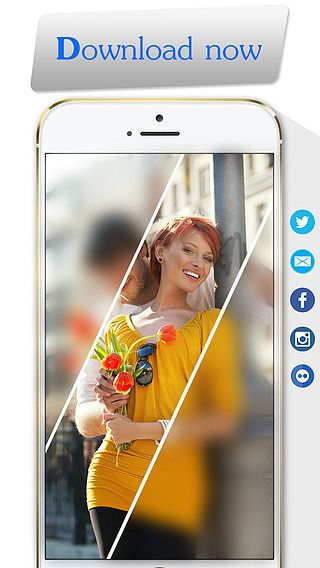 Facile Blur - Concentrez application de retouche d'image floue pour mac