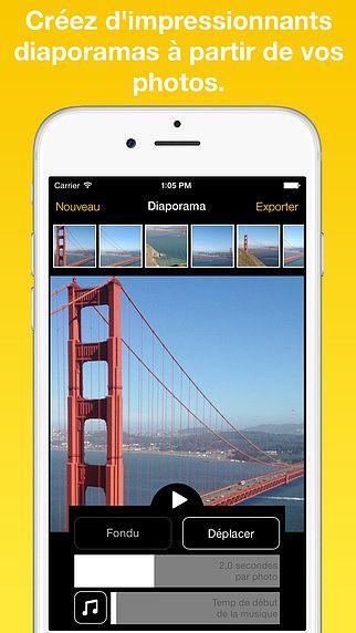 Images à vidéo - Créez des diaporamas vidéos à partager sur Inst pour mac