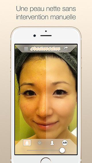 CreamCam : beauté automatique pour mac