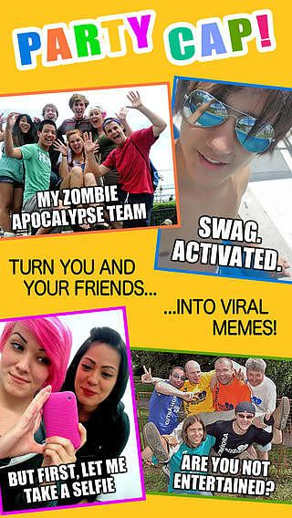 Taking Selfies With Friends - Add Funny Captions and Create Vira pour mac
