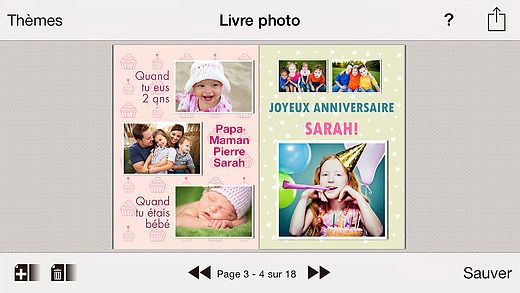 NicePrints: Livre Photo pour mac