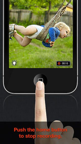 IREC Lite - L'enregistreur vidéo One Touch le plus rapide pour mac