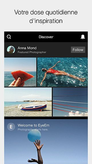EyeEm - Appareil photo, filtres  pour mac