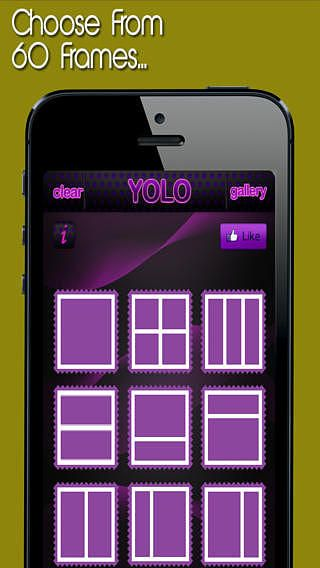 YOLO Insta-Collage Photo Frame Editor - Facile à utiliser Pic éd pour mac