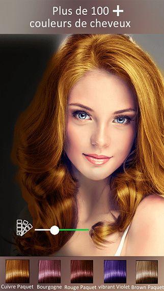 Couleur des cheveux Changer - Outil de maquillage, Changer la co pour mac