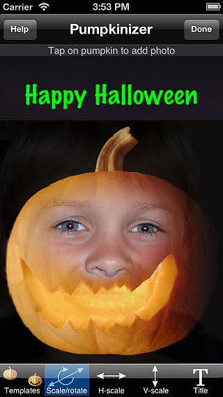 Halloween Pumpkinizer pour mac