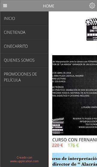 Galileo Cine y Televisión pour mac