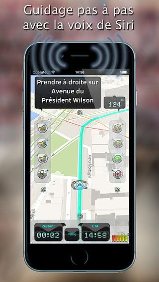 IWay GPS Navigation - Guidage vocal pas à pas et mode hors ligne pour mac