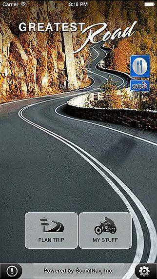 Greatest Road GPS Repère Route pour Moto pour mac