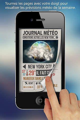 Journal Météo pour mac