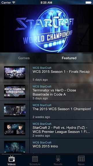 Blizzard WCS pour mac