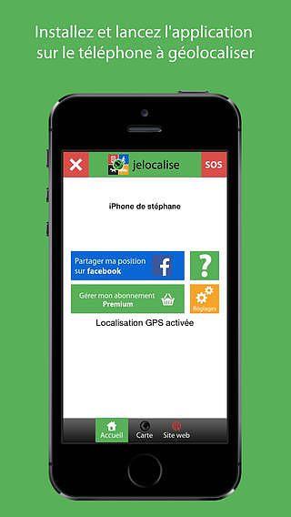 Jelocalise Tracker Light pour mac