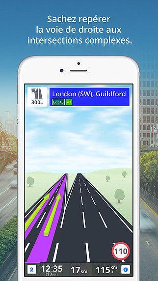 Sygic: navigation GPS, cartes hors ligne et points d'intérêt, se pour mac