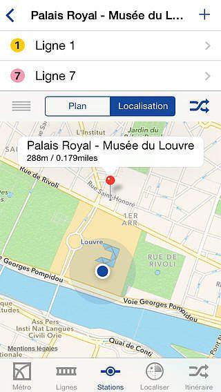 Métro Paris pour mac