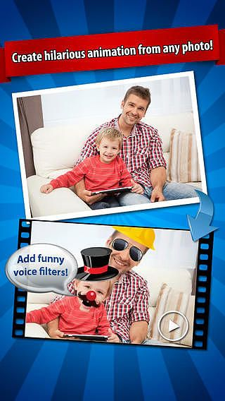 IFunFace Pro - Create Funny HD Videos From Photos, Fun Face pour mac