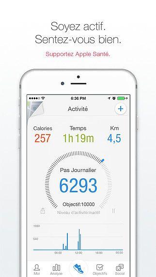 Pacer - Podomètre plus Poids et Gestion du BMI et Suivi de la Te pour mac