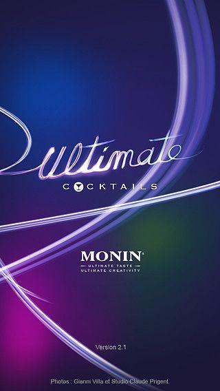 MONIN Ultimate Cocktails pour mac