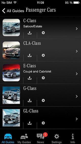Mercedes-Benz Guides pour mac