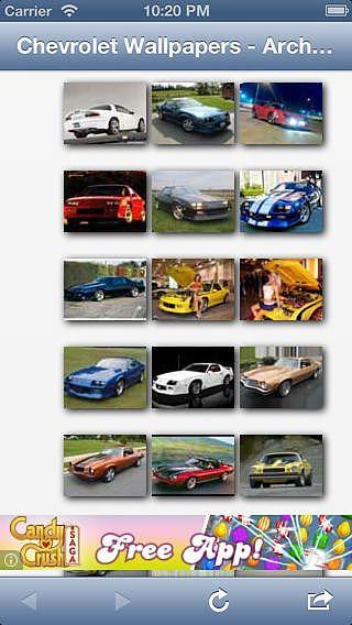 Camaro Gallery pour mac