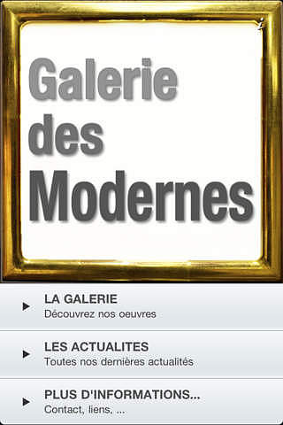 Galerie des Modernes pour mac
