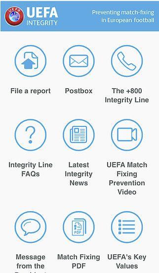 UEFA Integrity pour mac