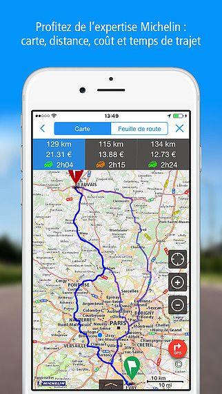 POUR GPS CARTE VIAMICHELIN TÉLÉCHARGER