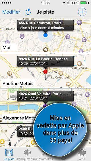GPS Traqueur : Phone Tracker pour mac
