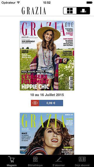 Grazia Magazine pour mac