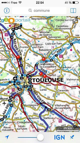 France Map pour mac