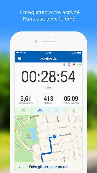 Runtastic GPS Running, Course à pied, Marche, Jogging, Entraînem pour mac