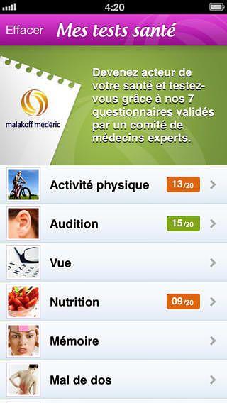 Mes tests santé : Evaluez votre forme et votre santé grâce à ces pour mac