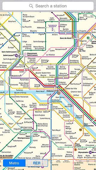 MetroMap Paris pour mac