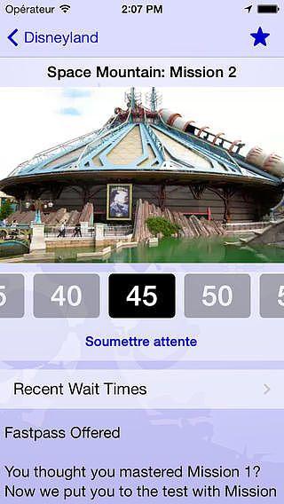 Disneyland Paris Wait Times Free pour mac