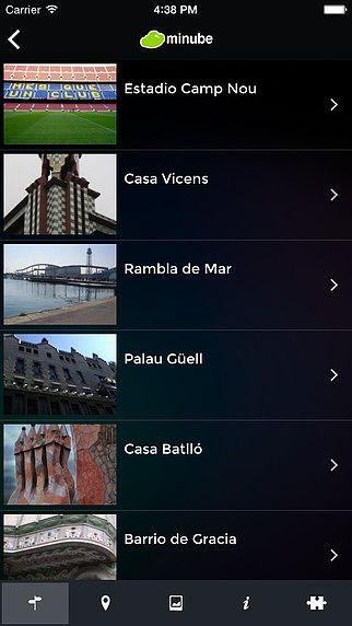 Barcelone - Guide de Voyage monnuage pour mac