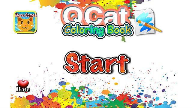 QCat - La coloration du livre de bébé 123 (gratuit) pour mac