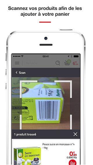 AuchanDrive - Commandez vos courses alimentaires en ligne pour u pour mac