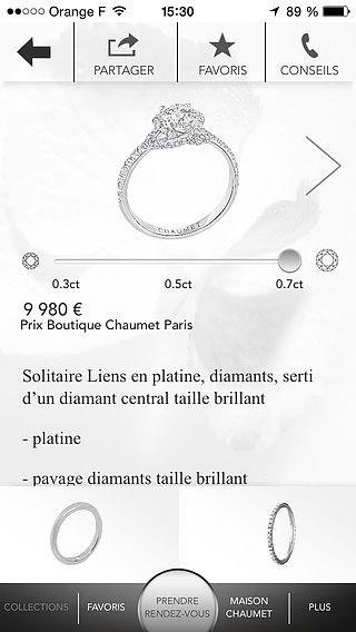 Chaumet - Mariage pour mac