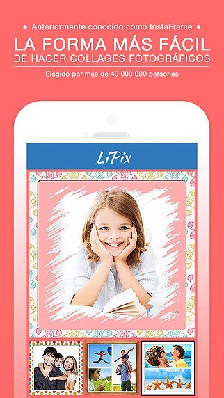 LiPix - Retouche Photo, Montage, Editeur, Photomaton, Effets pour mac